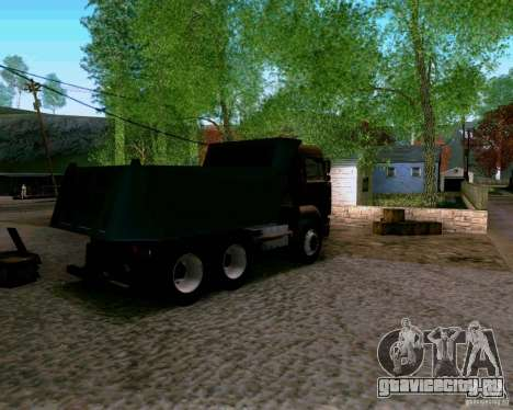КамАЗ 6520 Самосвал для GTA San Andreas вид слева