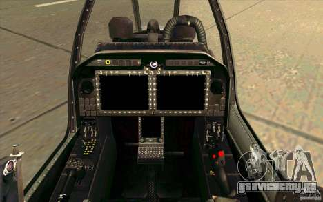 AH-1Z Viper для GTA San Andreas вид изнутри