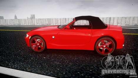 BMW Z4 Roadster 2007 i3.0 Final для GTA 4 вид слева