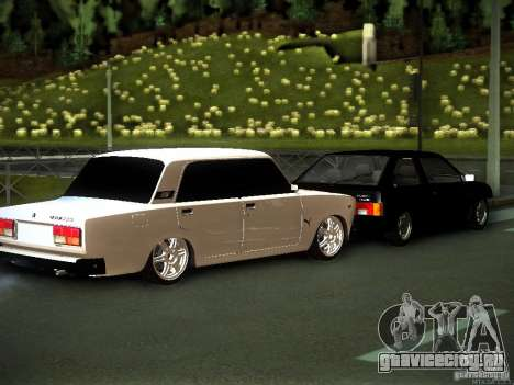 ВАЗ 2107 Грузия для GTA San Andreas