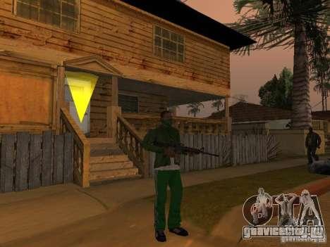 CLEO Оружие для GTA San Andreas второй скриншот