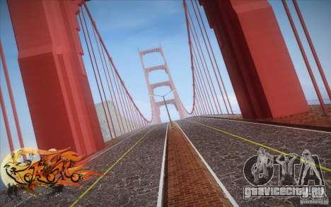 New Golden Gate bridge SF v1.0 для GTA San Andreas третий скриншот