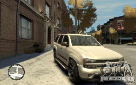 Chevrolet TrailBlazer v.1 для GTA 4
