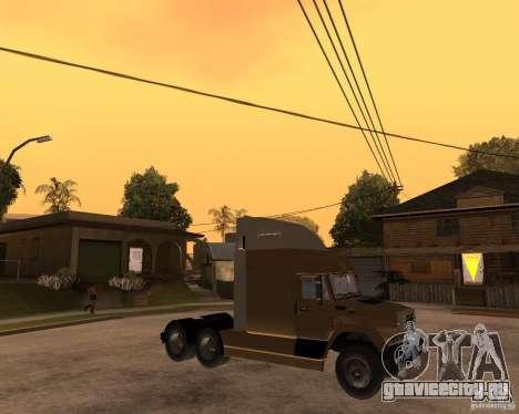 СуперЗиЛ v.2.0 для GTA San Andreas вид справа