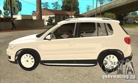 Volkswagen Tiguan 2.0 TDI 2012 для GTA San Andreas вид слева