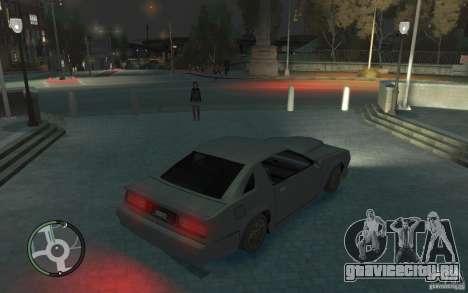 Buffalo IV для GTA 4 вид сзади слева