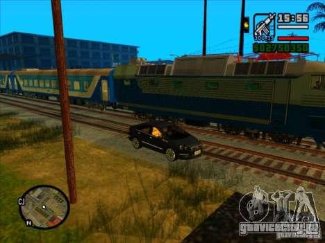 Длинные поезда для GTA San Andreas шестой скриншот