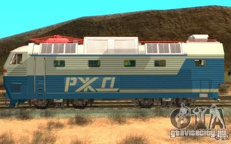 Локомотив ChS7-082 для GTA San Andreas вид слева