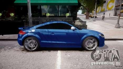 Audi TT RS Coupe v1 для GTA 4 вид слева