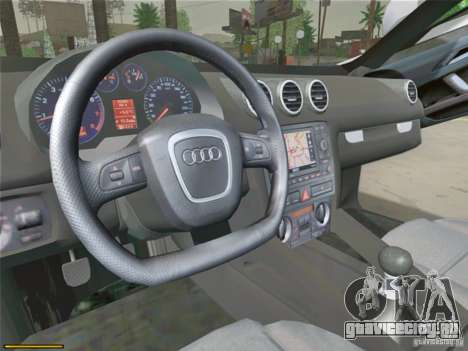 Audi TT Custom для GTA San Andreas вид сзади