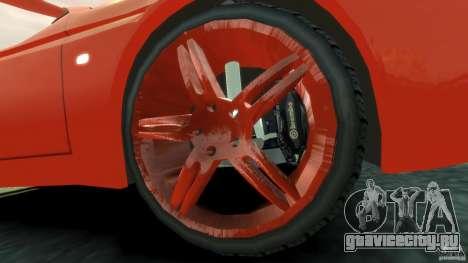 Alfa Romeo GTV Spider для GTA 4 вид изнутри