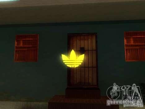Эмблема Adidas для GTA San Andreas третий скриншот