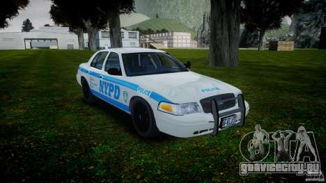 Ford Crown Victoria 2003 v.2 NOoSe для GTA 4 вид сзади