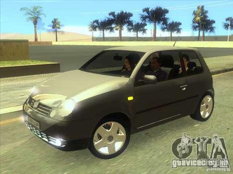 Volkswagen Lupo для GTA San Andreas вид слева