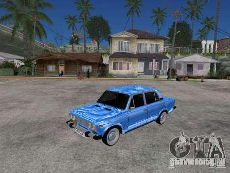 ВАЗ 2106 Ретро V2 для GTA San Andreas вид слева