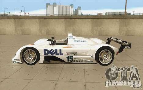 BMW V12 LeMans - Stock для GTA San Andreas вид слева
