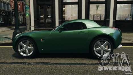 Pontiac Solstice 2009 для GTA 4 вид слева
