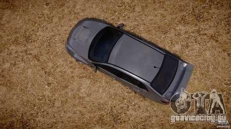 Subaru Impreza WRX STi 2011 для GTA 4 двигатель
