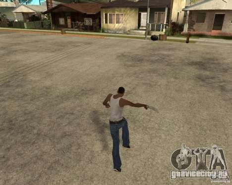 Wolverine mod v1 (Россомаха) для GTA San Andreas восьмой скриншот