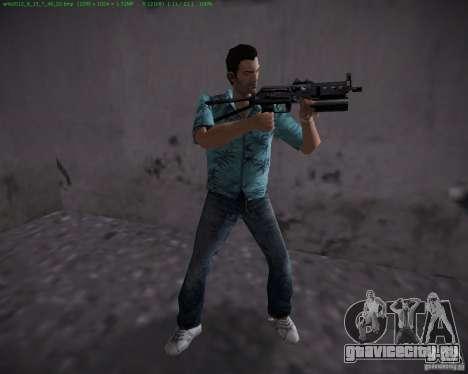 ПП-19 Бизон для GTA Vice City второй скриншот