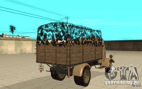 MERCEDES-BENZ L3000 v2.0 для GTA San Andreas вид сзади слева