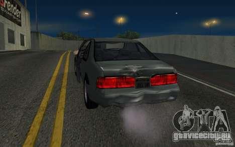 Ford Thunderbird 1993 для GTA San Andreas вид сзади