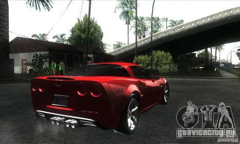 Chevrolet Corvette Grand Sport 2010 для GTA San Andreas колёса