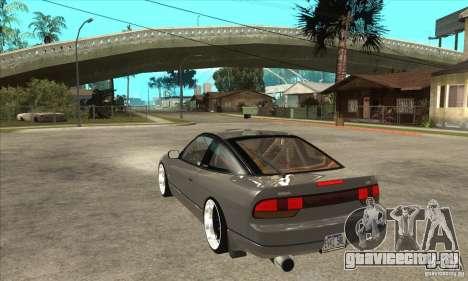 Nissan Silvia S15 1999 для GTA San Andreas вид сзади слева