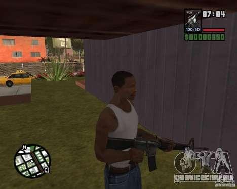 М16 для GTA San Andreas третий скриншот