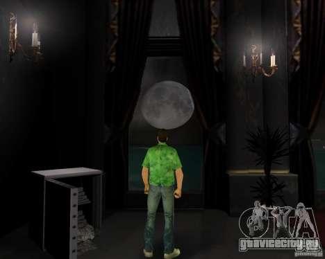 Новая вода, газеты, листья, луна для GTA Vice City четвёртый скриншот