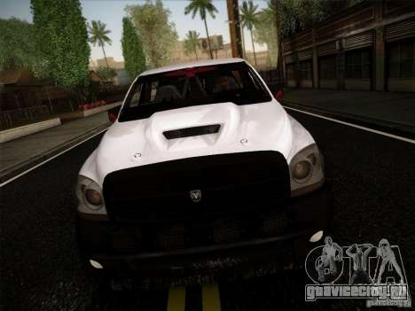 Dodge Ram 1500 4x4 для GTA San Andreas вид слева