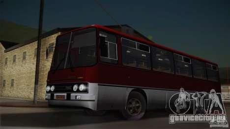 Икарус 255.01 для GTA San Andreas вид сзади слева