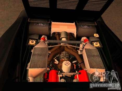 Ferrari 288 GTO для GTA San Andreas вид изнутри