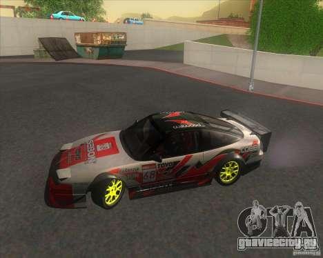 Nissan 240SX for drift для GTA San Andreas вид сбоку