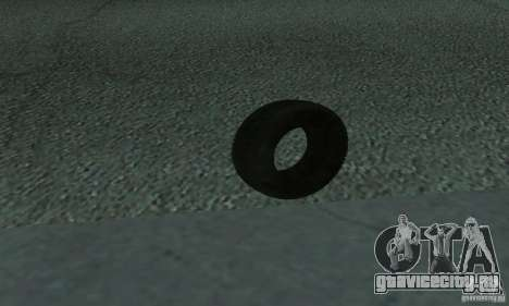 Покрышка для GTA San Andreas вид слева