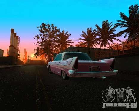 Plymouth Belvedere для GTA San Andreas вид сзади