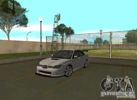 Subaru Impreza WRX STI-Street Racing для GTA San Andreas салон