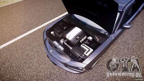 Dodge Charger RT Hemi 2007 Wh 1 для GTA 4 вид снизу