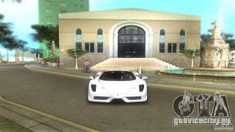Ferrari Enzo для GTA Vice City вид сзади слева