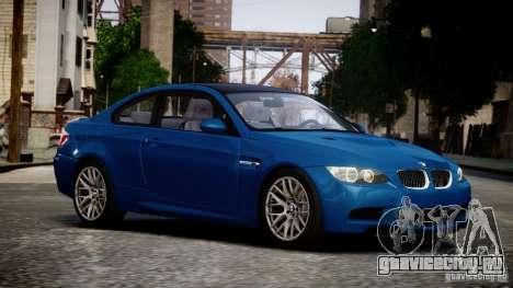 BMW M3 E92 ZCP 2012 для GTA 4