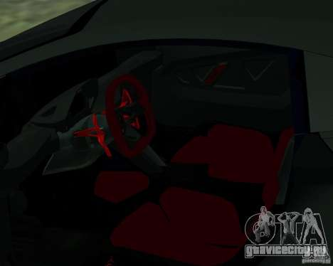 Lamborghini Sesto Elemento 2011 для GTA San Andreas вид справа