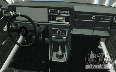 ВАЗ-2107 Lada Drift для GTA San Andreas вид сверху