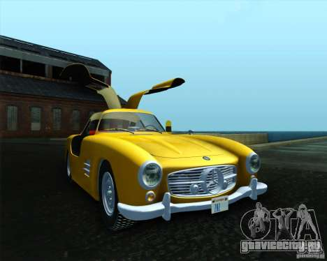 Mercedes Benz 300SL для GTA San Andreas вид слева
