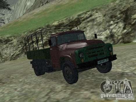 ЗиЛ 130 Бортовой для GTA San Andreas вид слева