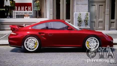 Posrche 911 GT2 для GTA 4 вид сбоку