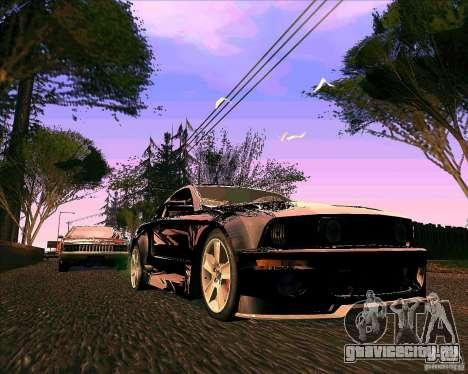 ENBseries V0.45 by 1989h для GTA San Andreas второй скриншот