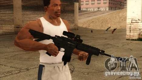 M4 с Датчиком сердцебиения для GTA San Andreas второй скриншот