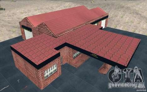 Новый гараж в Дороти для GTA San Andreas пятый скриншот