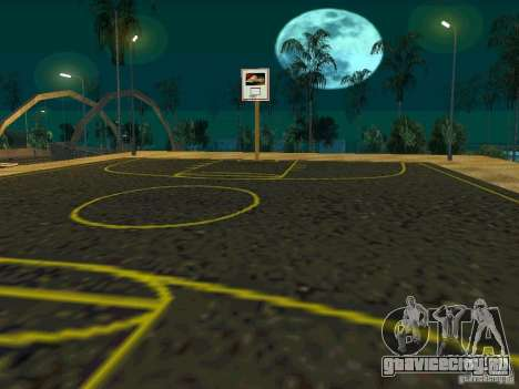 New basketball court для GTA San Andreas четвёртый скриншот