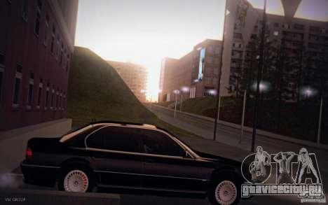 BMW 750i E38 2001 для GTA San Andreas вид слева